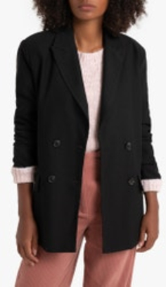 Blazer corte recto de LA REDOUTE COLLECTIONS